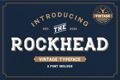 Rockhead Vintage Font