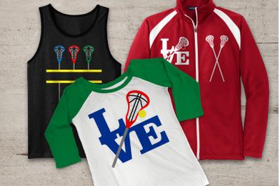Lacrosse Set | SVG | PNG | DXF