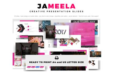 Jameela Creative Slide PowerPoint Template