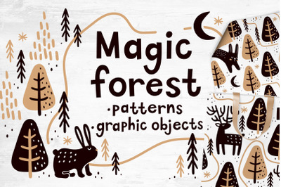 Magic forest | Patterns