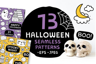 13 Halloween patterns