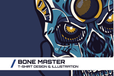 Bone Master T-Shirt Illustration