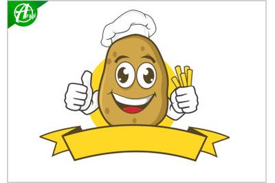 potatoes mascot