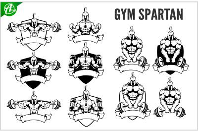 GYM spartan logo