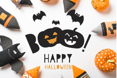 Halloween Font and Graphics Pack
