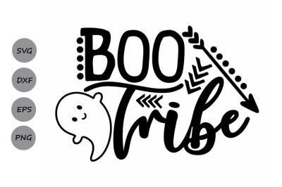 Boo Tribe Svg, Halloween Svg, Ghost Svg, Ghoul Svg, Kids Halloween Svg