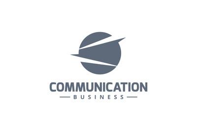 Communication business logo