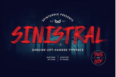 Sinistral   Hand-written SVG Font