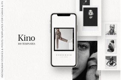 100 Film Frames & Polaroid Instagram Stories Posts, Instagram Template