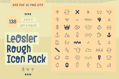 LeOsler Rough Icon Pack