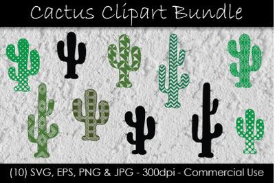 Cactus SVG Bundle - Cactus Clip Art - Cactus Silhouette