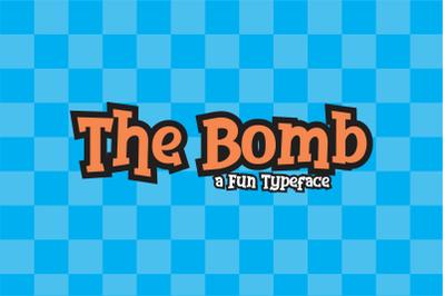 The Bomb a Fun Typeface