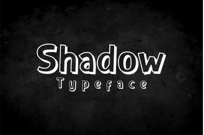 Shadow Typeface