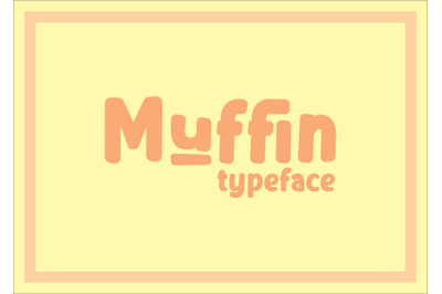 Muffin Typeface