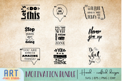 Motivational Quotes, Inspirational Quotes SVG, Quote Wall Art