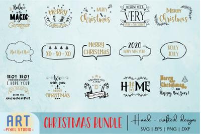 Christmas SVG, Merry Christmas SVG, Holiday SVG