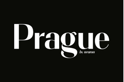 Prague Display Font
