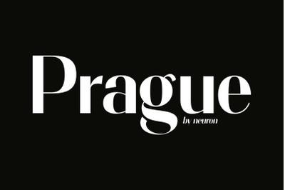 Prague Display Font