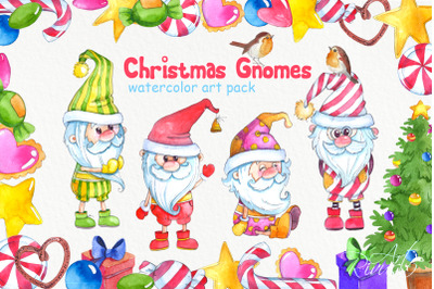 Scandinavian Christmas Gnome clipart PNG, Gnome clip art, Yuletide