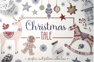 Christmas Tale Christmas Tale by Alina Sh  in Graphics Commercial Lic