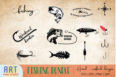 Fishing SVG, Fishing cut file, Fisherman
