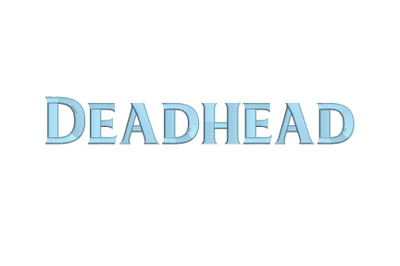 Deadhead 15 sizes embroidery font