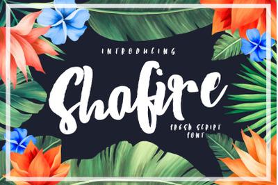 Shafire Fresh Script