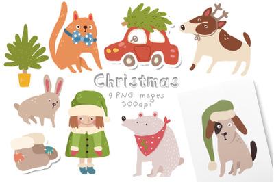 Cute little christmas pack