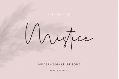 Mistice Signature