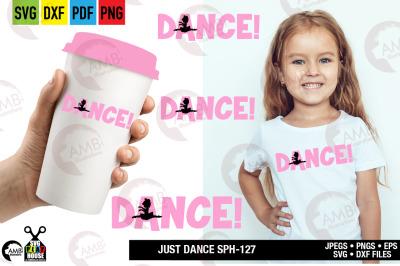 Ballerina SVG,  Dance svg, Favorite ballerina SPH-127