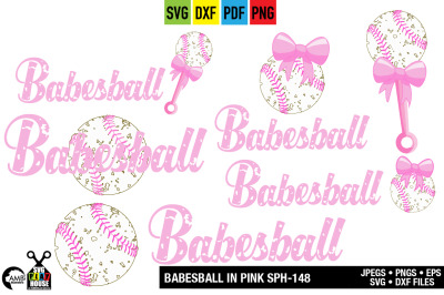 Babesball svg, Distressed Grunge, Baby baseball, SPH-148
