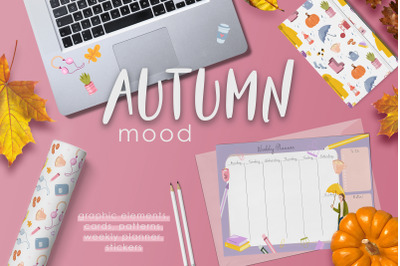 Autumn Mood. Graphic Collection