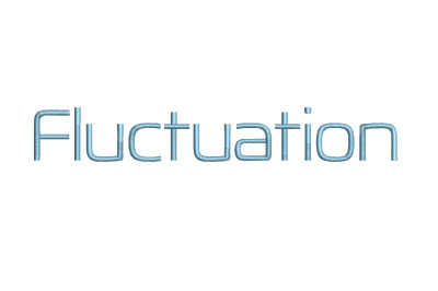 Fluctuation 15 sizes embroidery font (RLA)