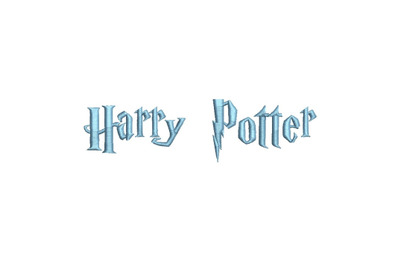 Harry Potter 15 sizes embroidery font