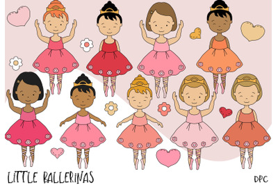 Little Ballerinas in pink