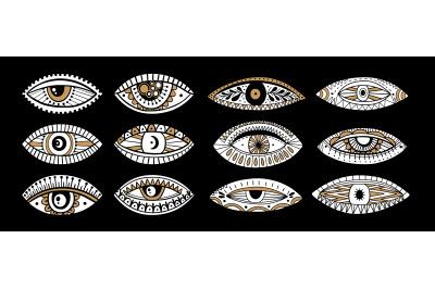 Eyes mystic graphic