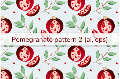 Pomegranate pattern 2