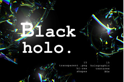 Holographic Shapes and Textures