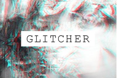 Glitch Effect Textures