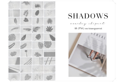 Realistic Shadow Overlay Clipart