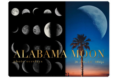Real Moon Clipart - Moon Photo Overlays