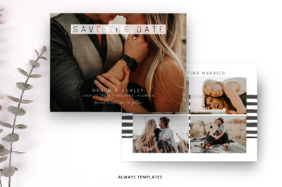 Save the Date Template SD013