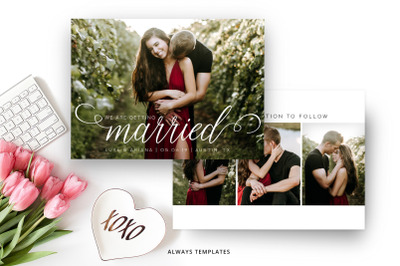 Save the Date Template SD015