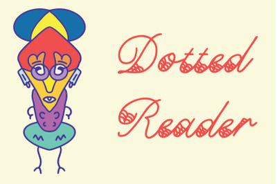 Dotted Reader font