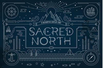 Sacred North Display Font