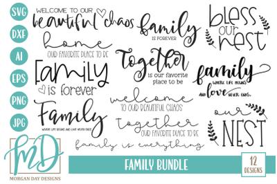 Family SVG Bundle