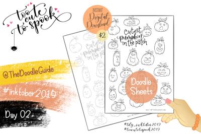 Inktober 2019 - Day 2: Pumpkins