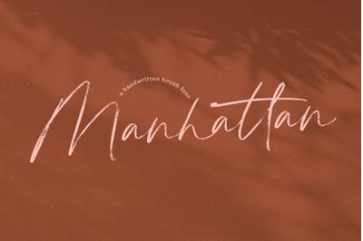 Manhattan - Brush Script Font