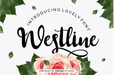 Westline - Lovely Font
