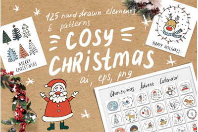 Cosy Christmas Clipart